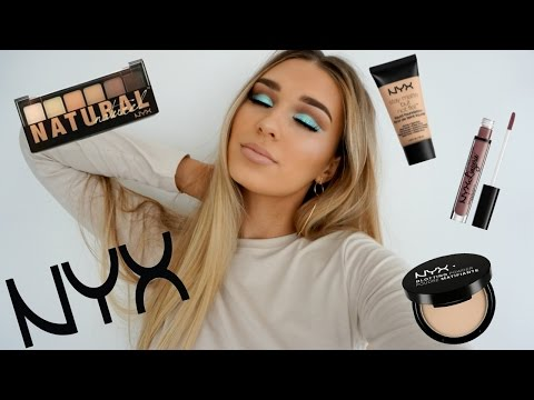 Full Face Using ONLY Nyx Cosmetics | SHANI GRIMMOND