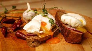 Яйцо пашот - это просто! Два способа приготовления.