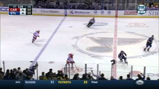 Blues no goal in OT Carolina Hurricanes vs St. Louis Blues Jan 10 2015 NHL