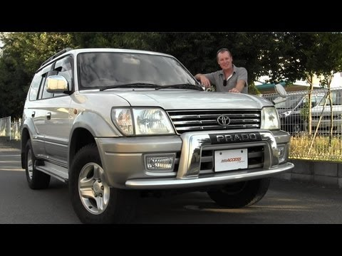 2001 Toyota Land Cruiser Prado 88K - for sale direct from Japan