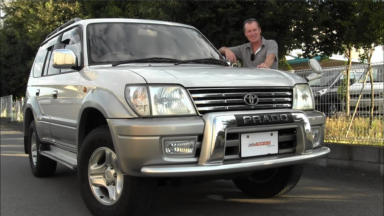 2001 Toyota Land Cruiser Prado 88k For Sale Direct From