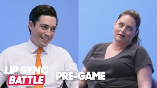 "Lauren Ash & Ben Feldman Play ""Getting to Know"" 