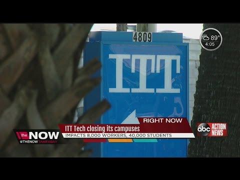 ITT Tech closing its campuses