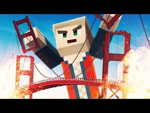 Die ZERSTÖRUNG der GOLDEN GATE BRIDGE! ★ Minecraft BRAWL