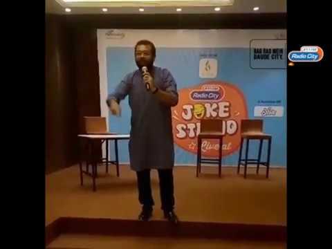 Radio City Joke Studio LIVE at Ahmedabad with Kishore Kaka