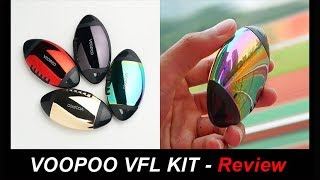 Review – VOOPOO VFL KIT – A pod system with 3 voltage options and 2 airflow holes丨Vaporl