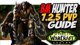BM HUNTER 7.2.5 PVP GUIDE! WoW Legion Patch 7.2.5