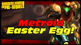 Borderlands Presequel Metroid Mother Brain Easter Egg!?!? You Decide If This Is An Easter Egg!