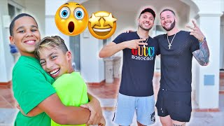 THE ROYALTY FAMILY SURPRISED US!! 🤩