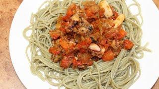 Морской Коктейль со Спагетти