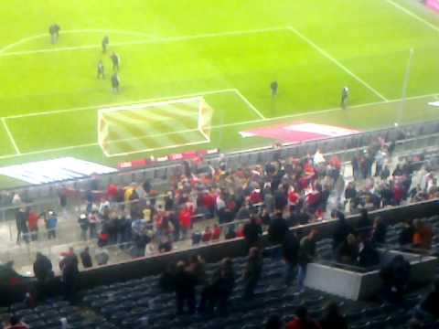 Allianz Arena Oberrang Sicht