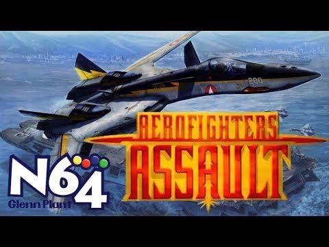 Aero Fighters Assault - Nintendo 64 Review - HD