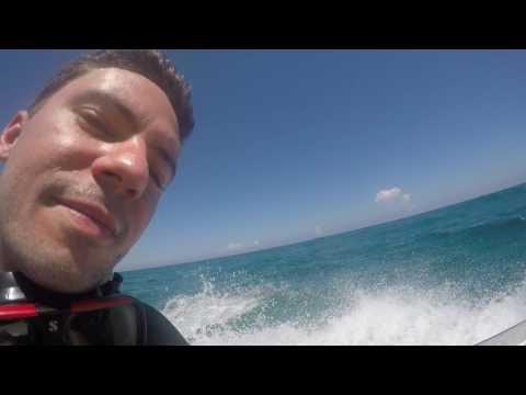 Caribbean Sea before diving