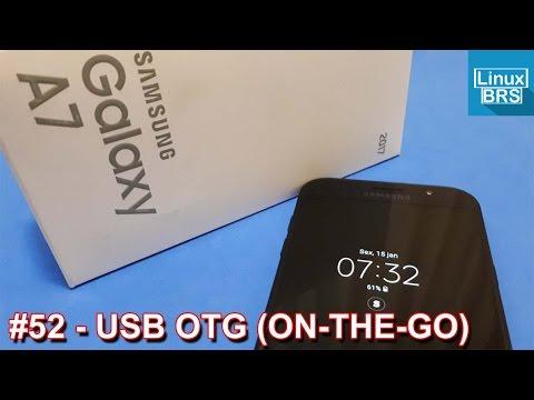 🔘 Samsung Galaxy A7 2017 - USB OTG (ON-THE-GO)