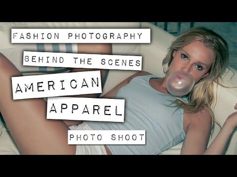 Model Photography - American Apparel - San Marino Photo Shoot