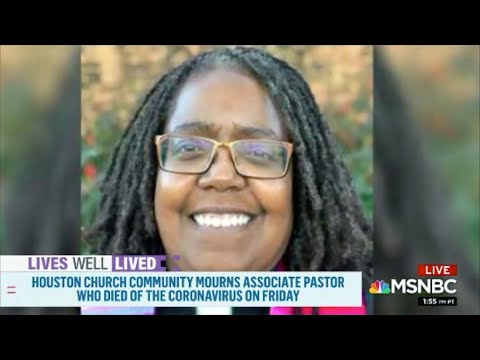 """""""Lives Well Lived"""" featuring Rev. Vickey Gibbs on MSNBC """"Deadline: White House"""" with Nicolle Wallaceиз YouTube · Длительность: 1 мин12 с"""