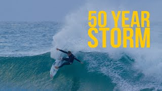 50 Year Storm Bells Beach - Tom Curren and Conner Coffin Jam - Your Weekly Tube