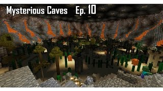Minecraft aventure - Mysterious Caves - Ep 10