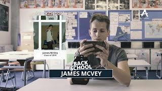 James McVey speaks about his bullying experience for #Back2School