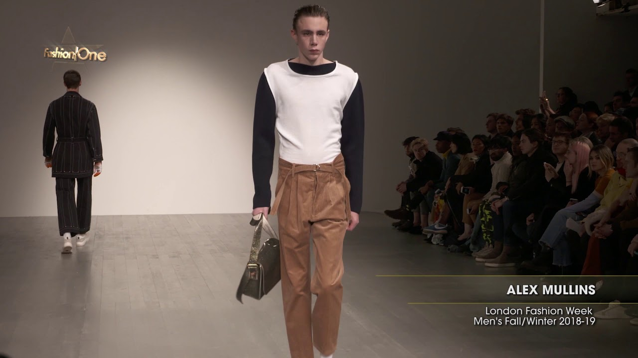 Alex Mullins London Fashion Week Men S Fall Winter 2018 19 Youtube