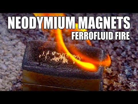 POWERFUL Neodymium Magnets, Ferrofluid, Lenz