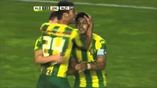 Gol de Penco. Aldosivi 1 - Unión 0. Fecha 13. Primera División 2016