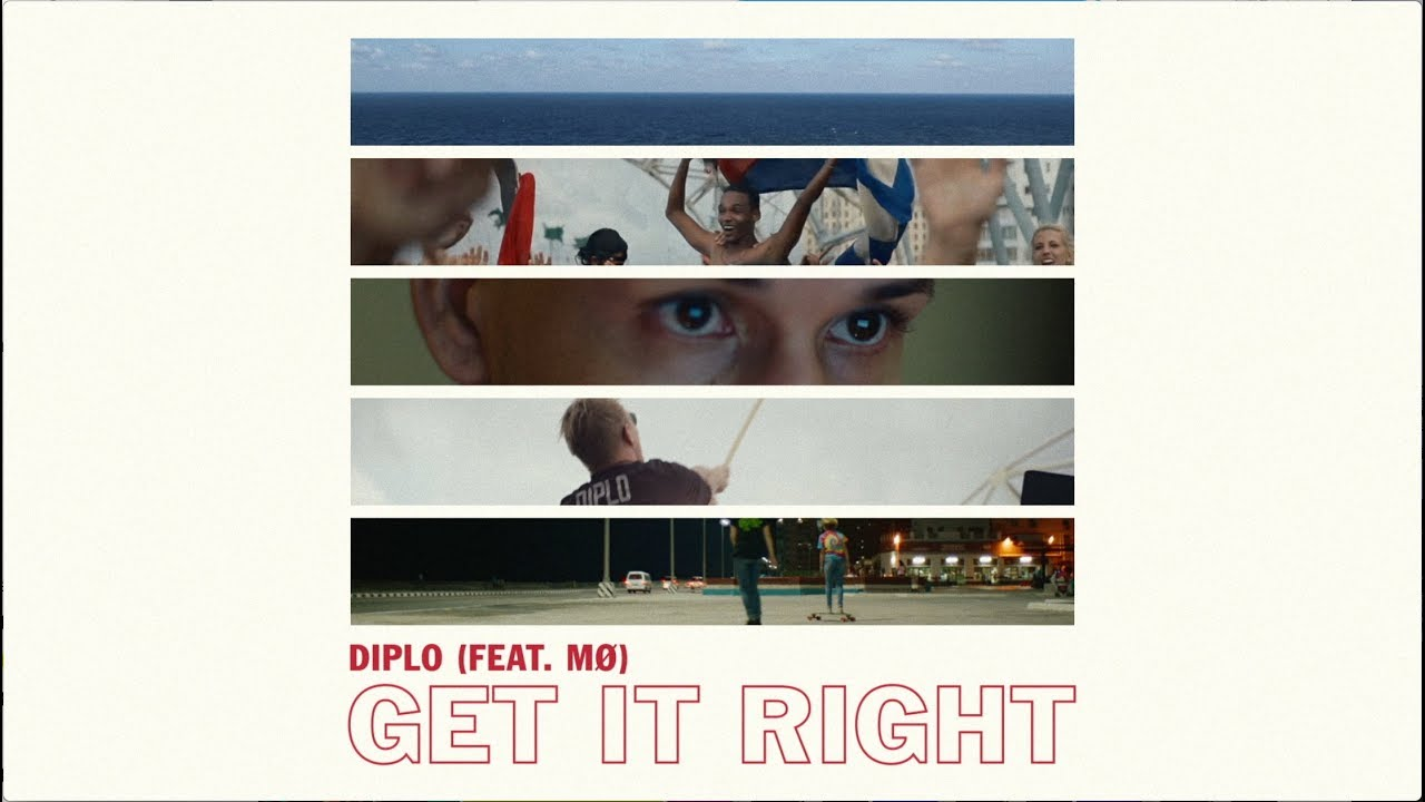 Diplo Get It Right Feat Mø Official Lyric Video Youtube
