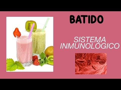 Batido ZUMO NATURAL para DEFENSAS y sistema inmunológico