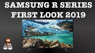 """Samsung R series first look RU7100 entry model 43"""" to 75"""""""