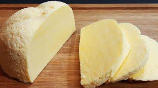 Быстрый рецепт домашнего сыра всего 10 минут работы и готово 96