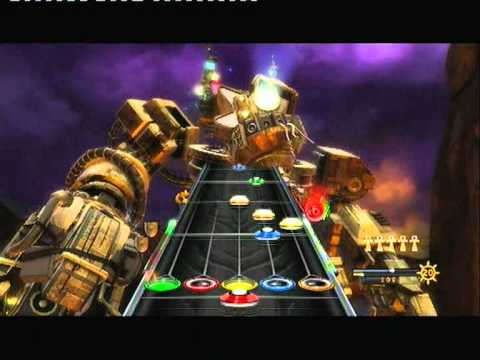 Guitar Hero Warriors Of Rock -  Black Widow Of La Porte, With Shuffle Color Notes EXPERT