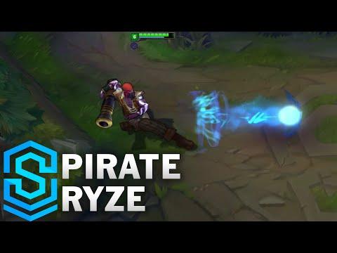 Pirate Ryze Skin Spotlight - Pre-Release - League of Legends