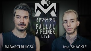 Fallal a fejnek (live) – Babarci Bulcsú feat. Shackle   Art Major Session 2019