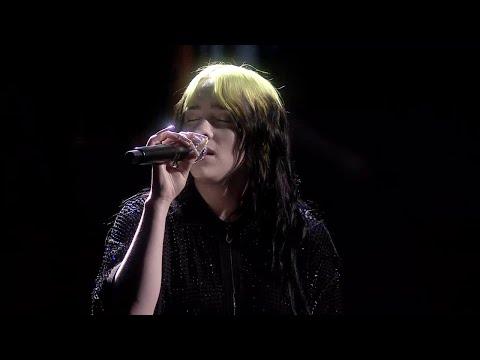 Billie Eilish - No Time To Die (LIVE) | The BRIT Awards 2020