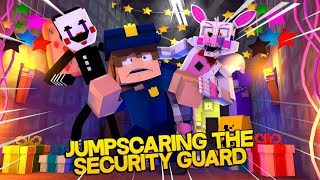 Minecraft Fnaf: Jumpscaring The Security Guard On Night 1 (Minecraft Roleplay)