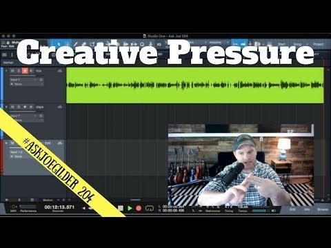 Creative Pressure | #AskJoeGilder 204