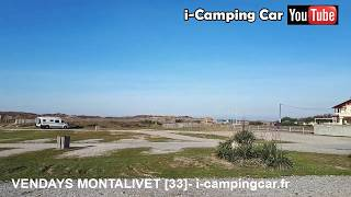 VENDAYS MONTALIVET [33] - Aire Camping Cars