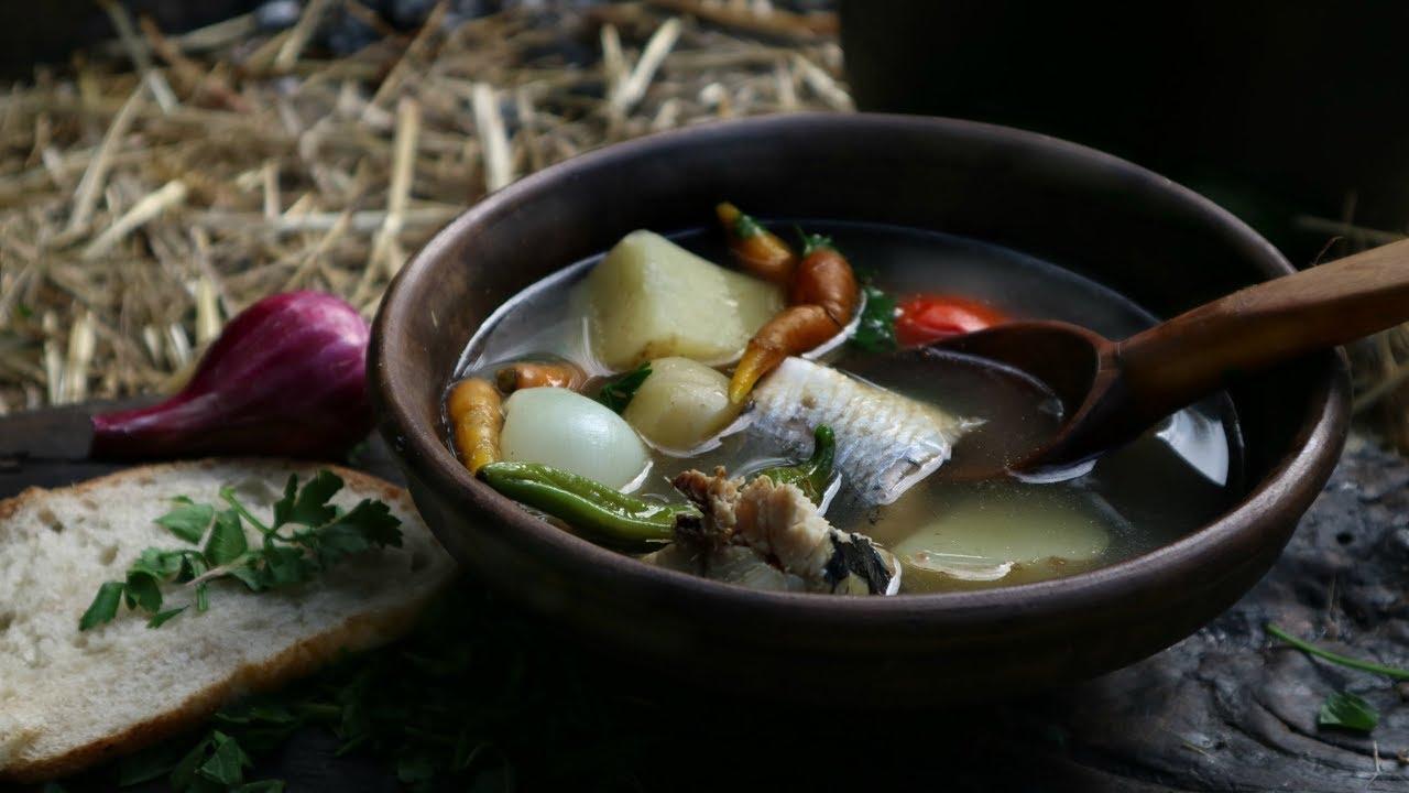 Уха из сельди. Рыбный суп с дымком! | Fish soup with smoke! | Zupa rybna z dymem!