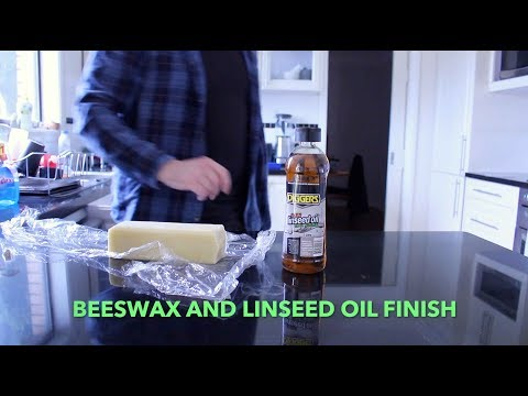 Beeswax & Linseed Oil Finish - All Natural & Food Safe
