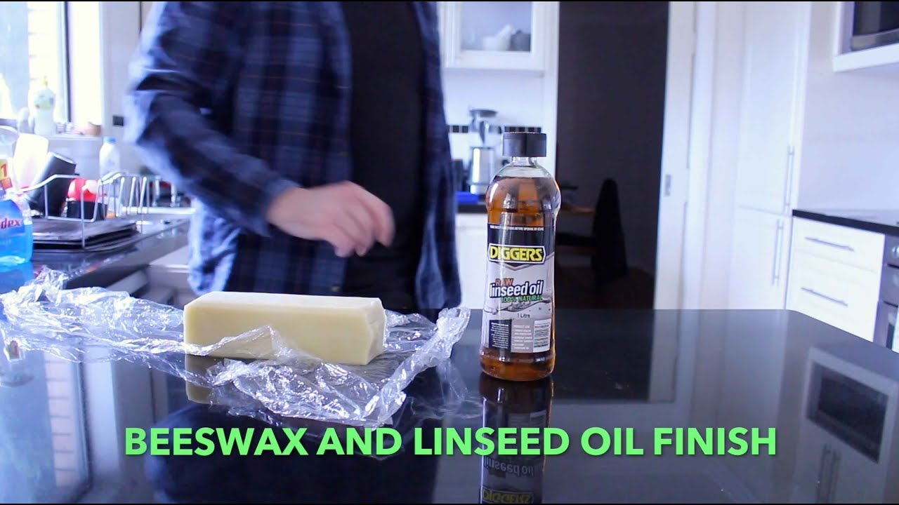 Boiled Linseed Oil Finish Food Safe