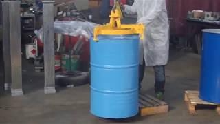 VEAB BS101 MF - Ручные захваты для перемещения металлических и пластиковых бочек