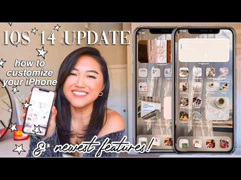 HOW TO CUSTOMIZE YOUR IPHONE WITH IOS 14 ! *AESTHETIC* (widgets + Tips!) STEP BY STEP TUTORIAL 2020