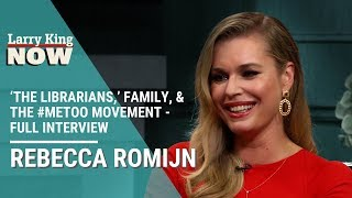 Rebecca Romijn on 'The Librarians,' Family, X-Men & the #MeToo Movement