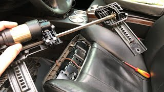 Ремонт подколенной опоры БМВ (BMW E65/E66)