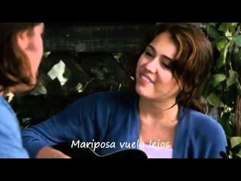 Miley Cyrus & Billy Ray Cyrus - Butterfly Fly Away (Traducida al Español)