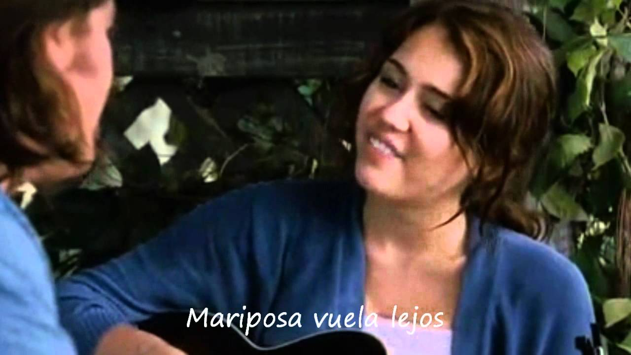 miley cyrus & billy ray cyrus - butterfly fly away (traducida al