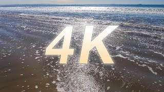 "[4K] ""Coronado Beach Waves"" Part II Beach Waves Nature Relaxation Video 1 HR"