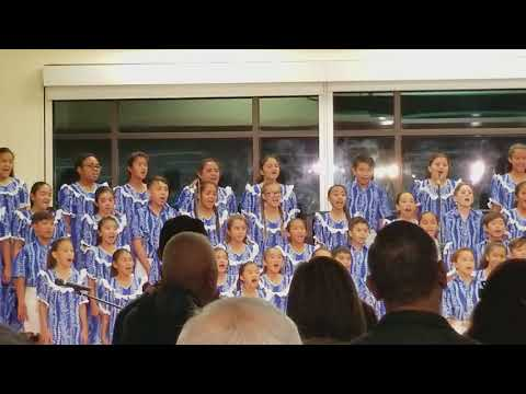 Halelujah sung by the Kamehameha Schools Children's Choir