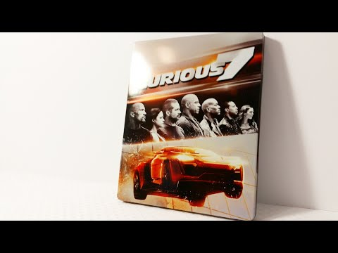 Furious 7 Best Buy Exclusive Steelbook Blu Ray Unboxing & Review (Fast & The Furious)