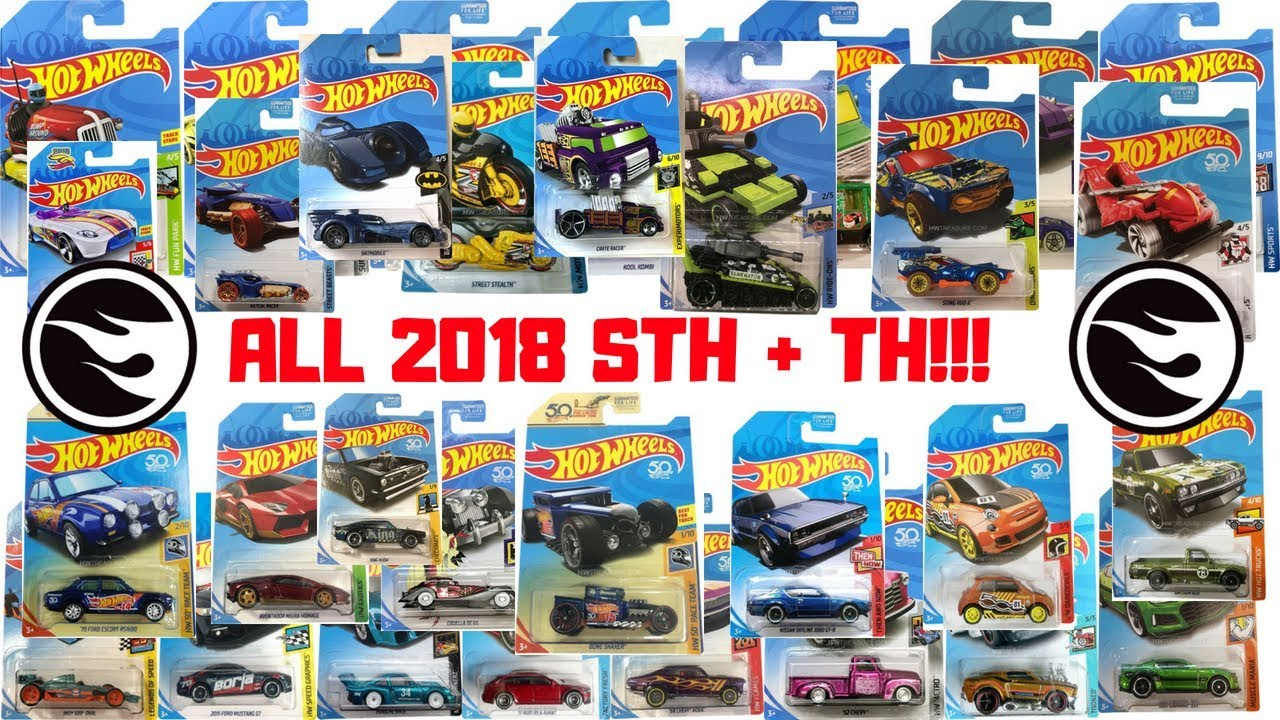 Hot Wheels 2018 Super Treasure Hunt Treasure Hunt List Youtube